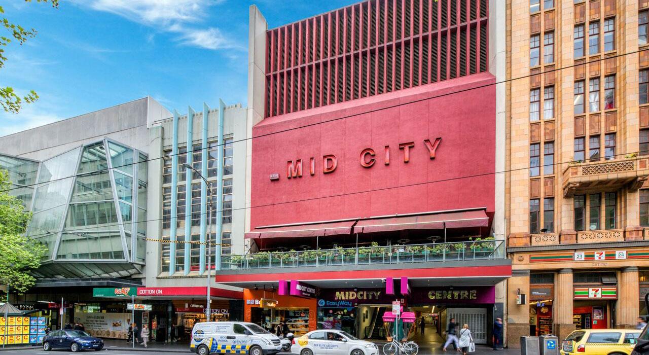 midcity bourke street shops